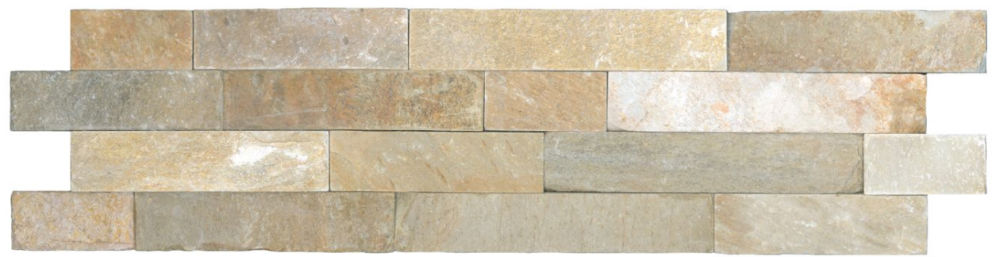 Quartzite architectural ledger stone