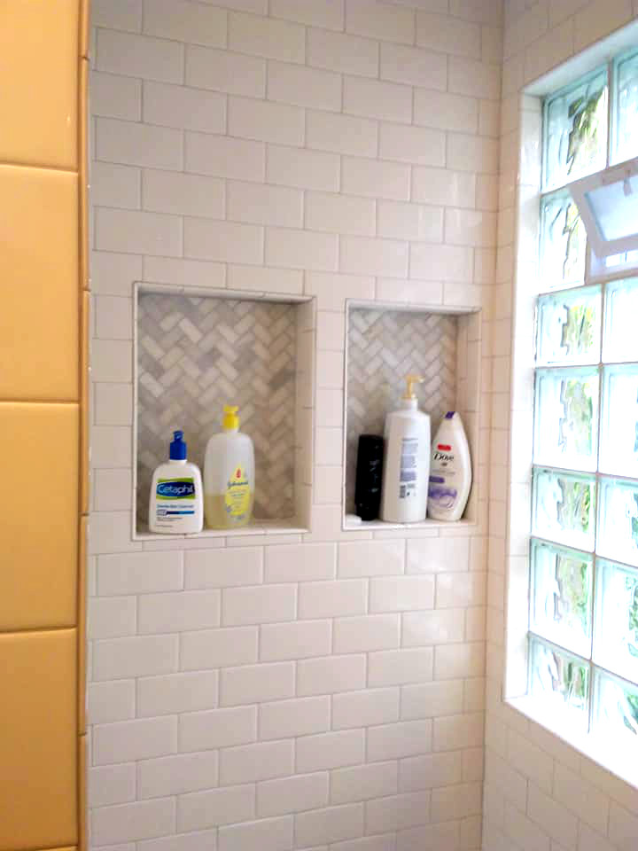 Whitefish Bay Shower Niche