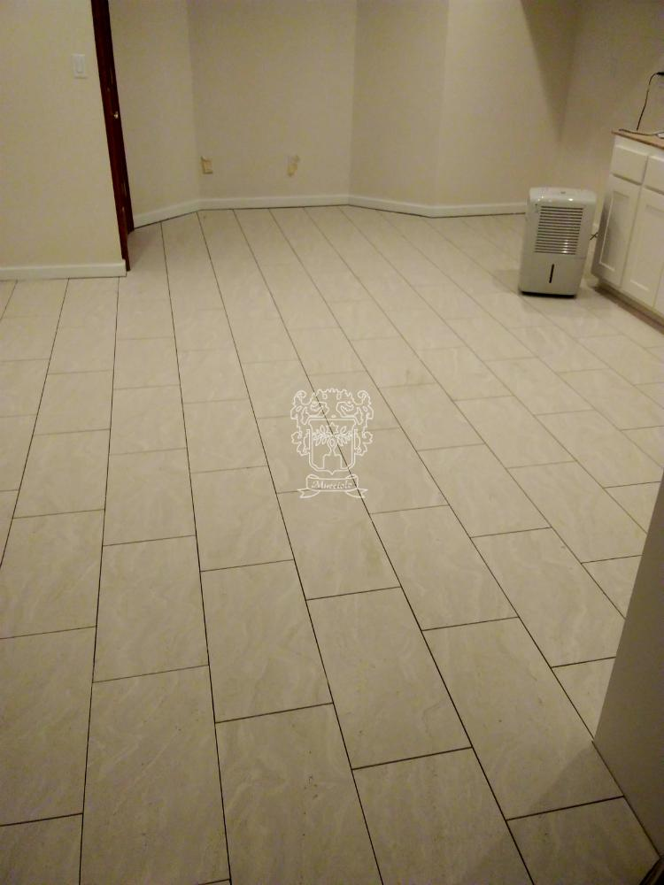 Travertino Ivory Porcelain - Hartland, WI - Mucciolo Tile